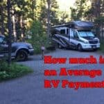 How much is the Average RV Payment? (with examples)