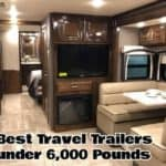 The Best 6 Travel Trailers Under 6000 Pounds To Buy