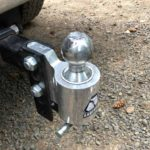 What size ball does a travel trailer use?
